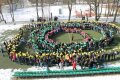 Kazlų Rūdos moksleiviai netradiciškai šventė Kovo 11-ąją