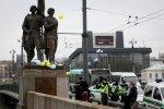 Разрешили снять с Зеленого моста скульптуры