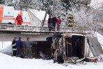 В Кельмеском районе в реку съехал микроавтобус: трое человек погибли