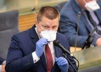 Бенефис депутата Гайжаускаса: нарушил режим самоизоляции, вопрос вызывает и тестирование