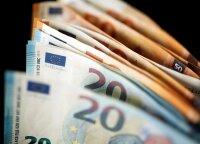 Средние трудовые доходы в Литве в 2019 году выросли до 1100 евро