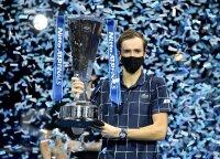Российский теннисист Даниил Медведев выиграл Итоговый турнир ATP