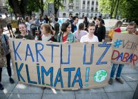 В правительстве Литвы спорят об амбициях ЕС остановить изменения климата