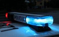 В Вильнюсе во время преследования Hyunday поврежден полицейский автомобиль