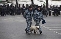 Дождь: полиция задержала 15 участников акции в память Немцова