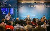 Форум свободной России в Вильнюсе: Здесь обсуждается все