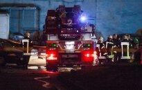 Ночью в Паланге сгорело кафе