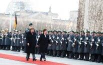 Premier Beata Szydło w Berlinie. Fot: P. Tracz / KPRM