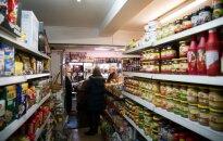 Сколько одни и те же продукты стоят в Литве и Англии?