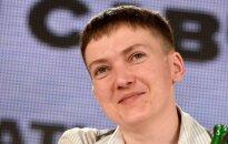 Савченко отказалась благодарить Путина за помилование