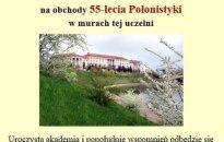 55 - lecie Polonistyki