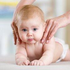 Kineziterapeutė: masažas ir mankšta vaikui turi neįkainojamą vertę