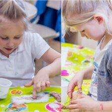 Kūrybiškas ir smagus darbelis su vaikais: gaminame Oliziuką