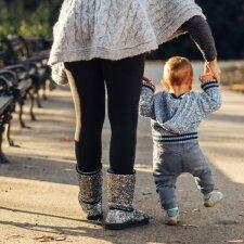 Klaidos, kurias daro mamos, augindamos mažus vaikus