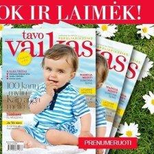 Prenumeruok žurnalą TAVO VAIKAS ir išsaugok plaukų grožį!