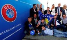 Федерацию футбола Косова приняли в УЕФА