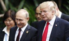 Donaldas Trumpas, Vladimiras Putinas