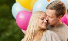 meilė, pora, balionai