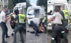 Policijos pareigūnai ramino įsisiautėjusį paauglį