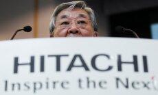Hitachi prezidentas Hiroaki Nakanishi