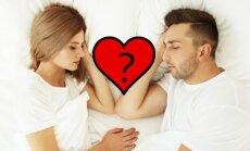 Kuriam jūsų santykiai svarbesni, išduos miego kartu poza