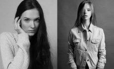 Blizgančių plaukų paslaptis atskleidžia pripažinti modeliai