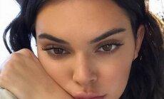 Sukritikuota dėl išvaizdos Kendall Jenner atvirai prabilo apie odos problemas