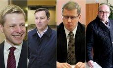 Remigijus Šimašius, Artūras Zuokas, Andrius Kupčinskas ir Visvaldas Matijošaitis