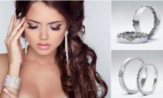 Amžinos meilės simbolis - vestuvių žiedas iš meteorito