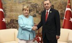 Angela Merkel ir Recepas Tayyipas Erdoganas