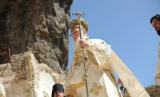 Konstantinopolio ekumeninis patriarchas Bartolomėjus I Sumeloje, Turkijoje