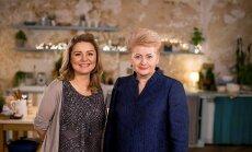 Beata Nicholson ir Dalia Grybauskaitė