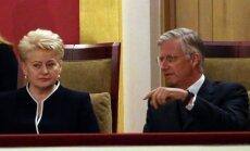 Prezidentė Dalia Grybauskaitė, Belgijos karalius Filipas