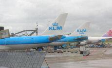 Lėktuvai, Nyderlandų avialinijos KLM, Amsterdamo oro uostas, Schiphol