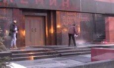 Święconą wodą skropili mauzoleum Lenina