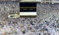 Musulmonai renkasi Mekoje švęsti hadžą