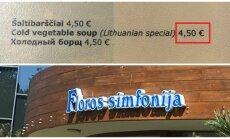 4,5 euro za chłodnik? Tak, to możliwe