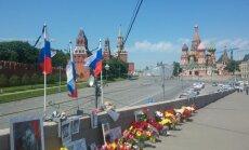 B. Nemcovo nužudymo vieta prie Kremliaus
