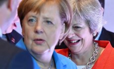 Theresa May, Angela Merkel