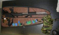 Iš Lietuvoje sulaikyto Rusijos piliečio atimtas ginklas.