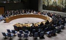 Donaldas Trumpas pirmininkavo JT Saugumo tarybai