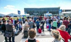 Pranešta, kad užminuotas Kauno oro uostas