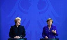 Merkel: Niemcy zgodziłyby się na wniesienie dużego wkładu w obronę państw bałtyckich