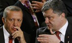 Recepas Tayyipas Erdoganas, Petro Porošenka