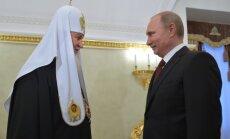 Patriarchas Kirilas, Vladimiras Putinas