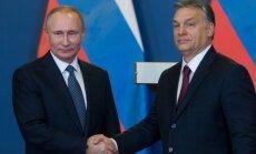 Vladimiras Putinas ir Viktoras Orbanas