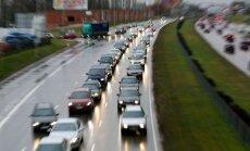 Prieššventinės eismo grūstys Vilniuje