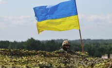 Ukrainos karys pratybose
