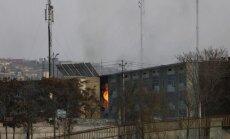 Kabule vyriausybės pastatų komplekse nugriaudėjo sprogimas