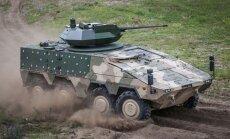 Lietuvai skirtos pėstininkų kovos mašinos Boxer prototipas su bokšteliu Samson Mk. II
